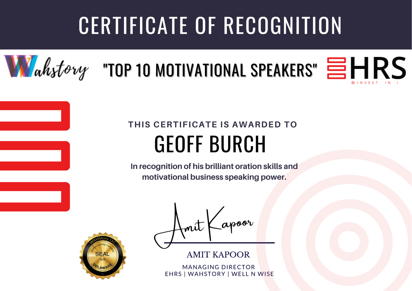 Top 10 speaker in the world