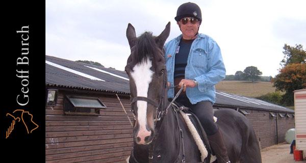 Horse riding Geoff